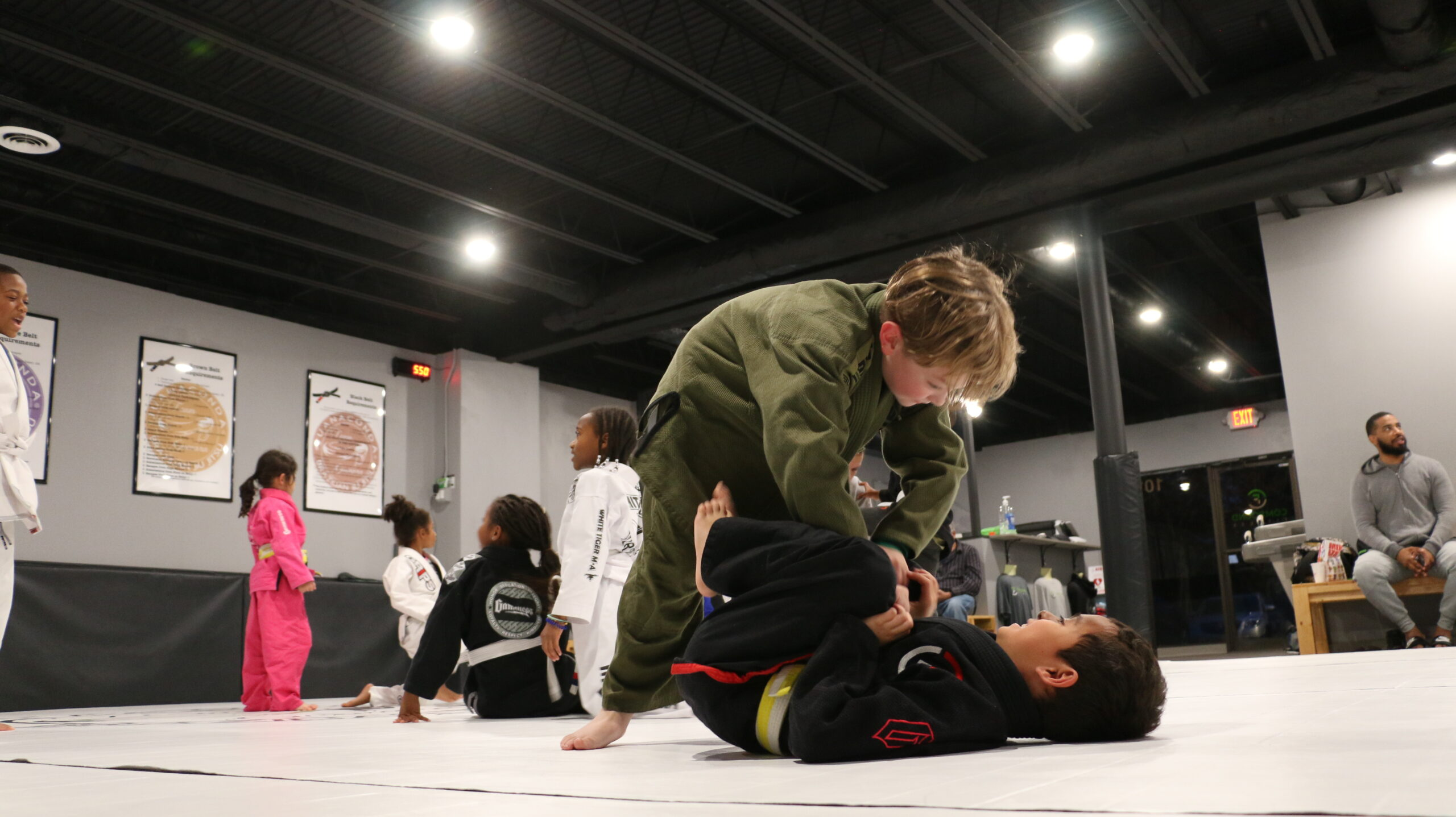 Physical training programs for kids, too.