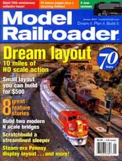 MODEL RAILROADER_HO SCALE MODEL RAILROADS