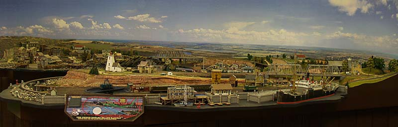 PRINCE EDWARD ISLAND_PANORAMA_MODEL TRAIN LAYOUT_CUSTOM LAYOUT
