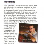 """""""Selfe-Contained"""" CD review from Blues Matters!"""