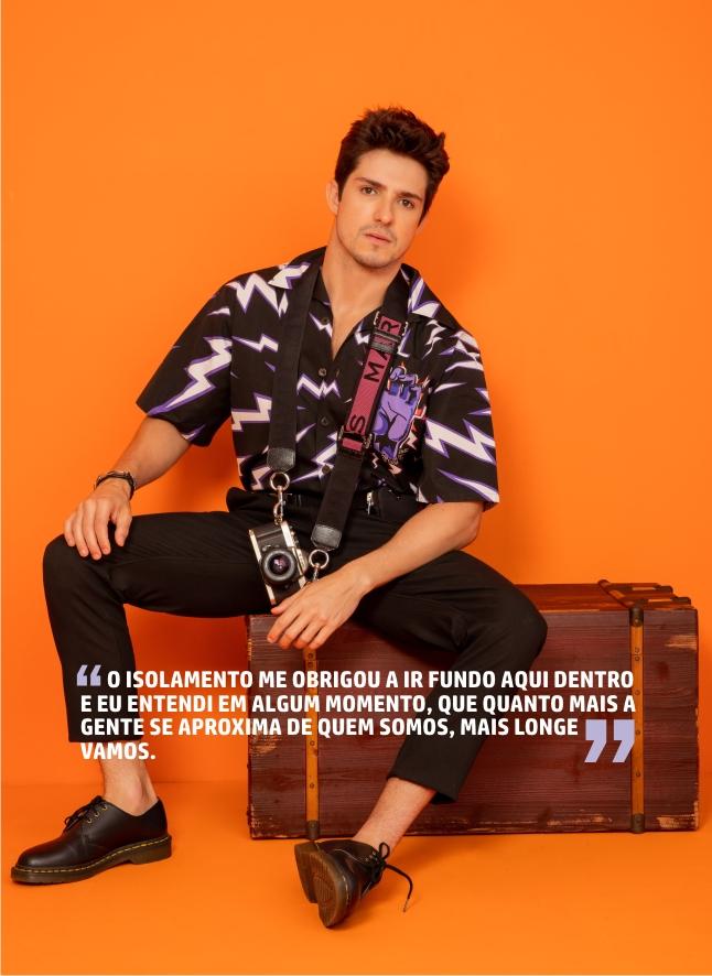 Igor Cosso para a revista Mensch. (Foto: Giselle Dias)