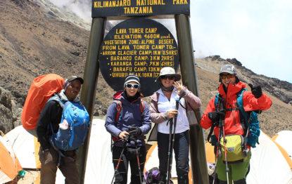 Machame route 7 days