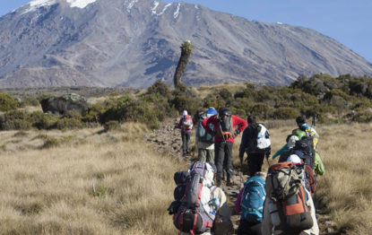 Marangu route 5 days