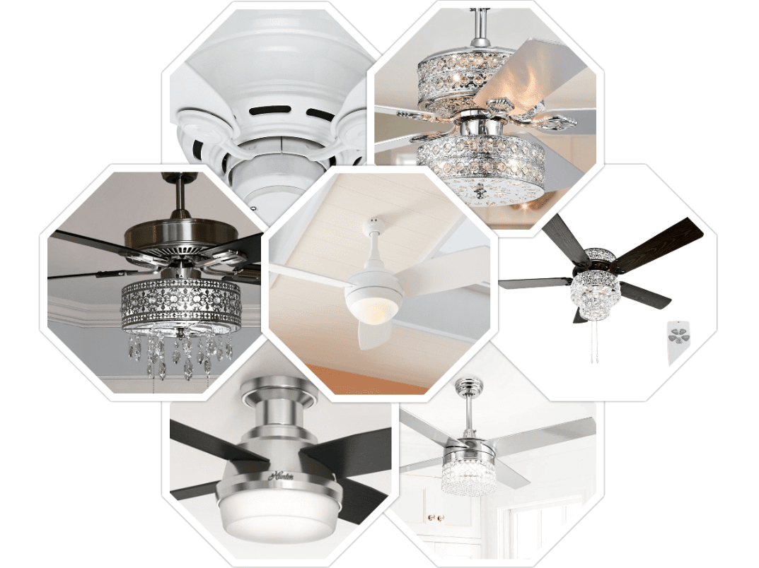 ceiling fan install, upgrade and repair