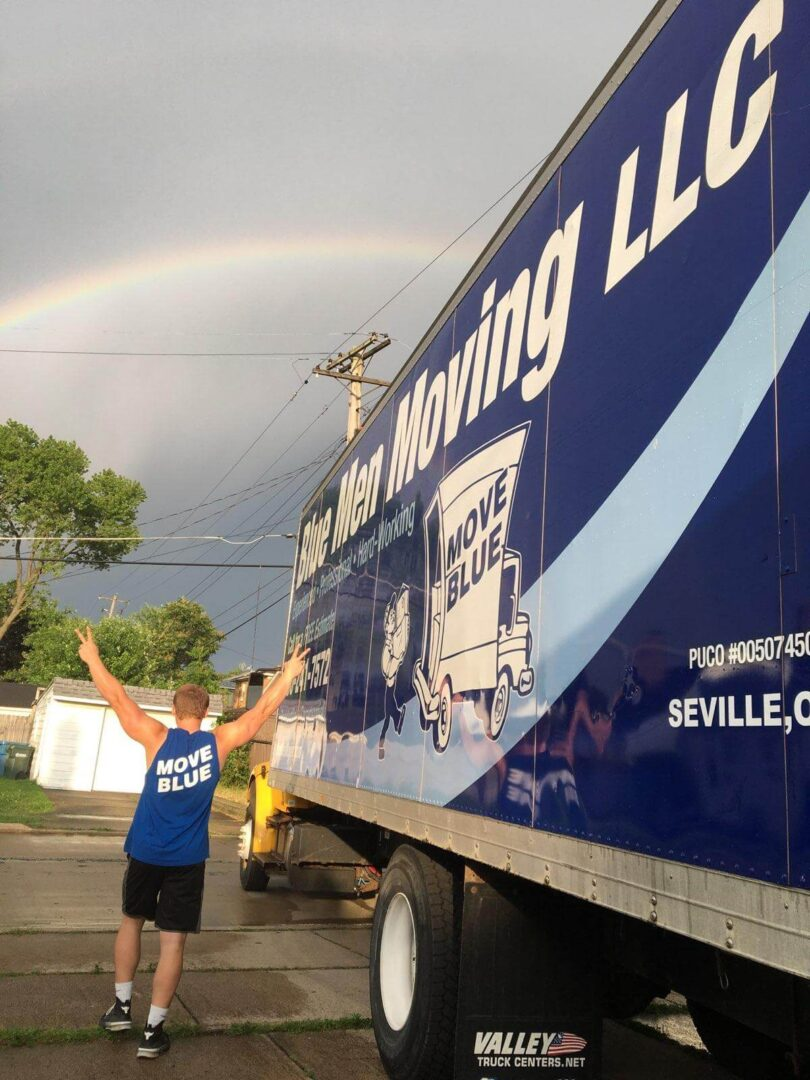Our moving team at work in Akron, OH