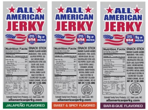 All-American Jerky Snack Sticks