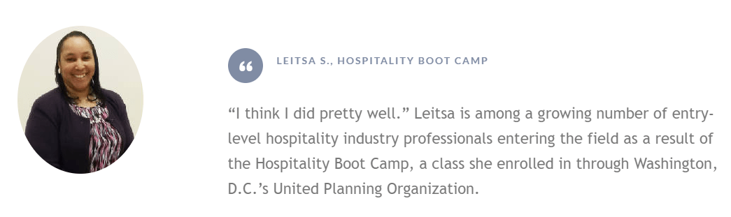 Leitsa Training Success Story