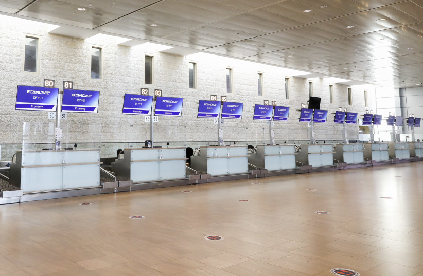Israeli Government shuts down incoming and outgoing flights until end of month