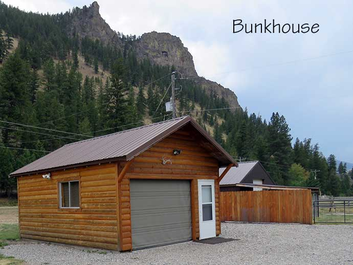 Bunkhouse outside