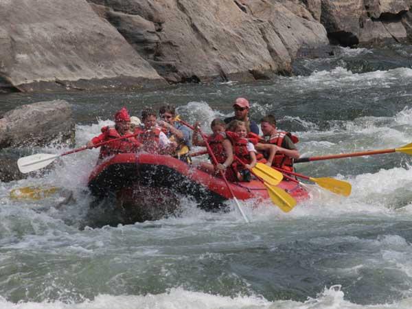 Salmon River Rafting with Idaho Adventures