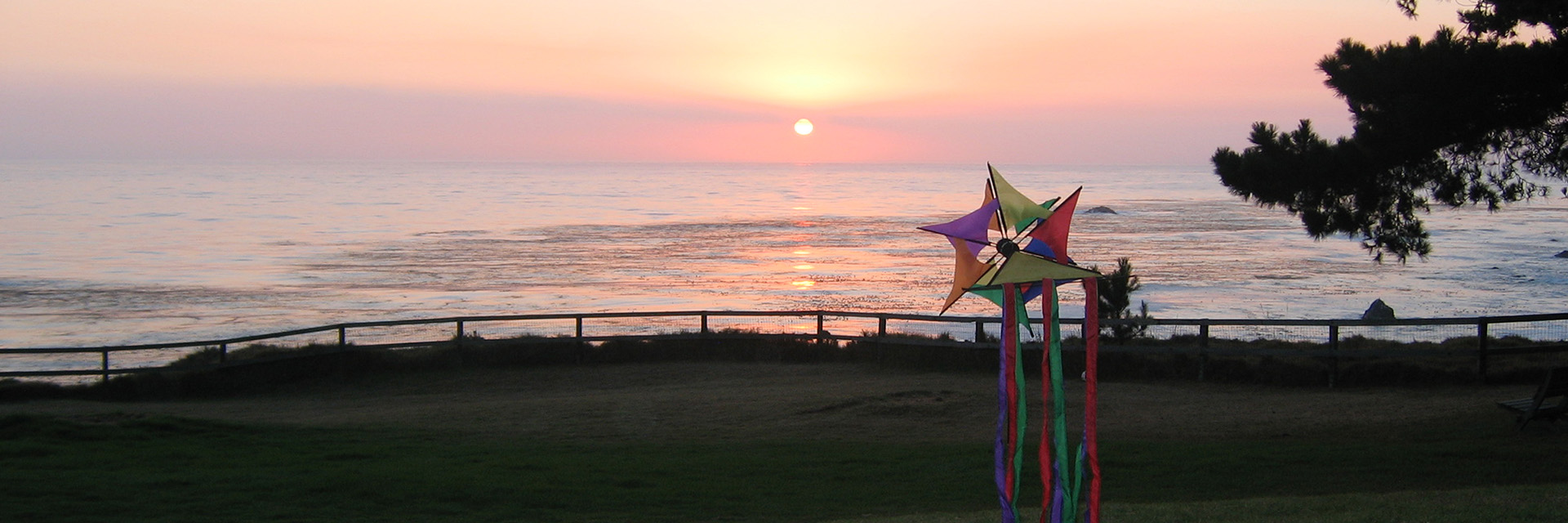 Sunset Whimsey at Esalen