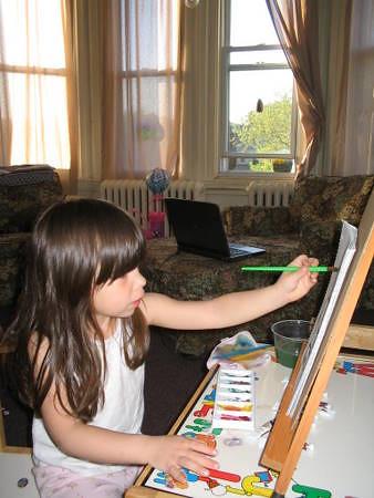 Pintura de artistas - deixar de se arrepender de seu passado (técnica de Alexander, postura, dor, tensão e lesões) (Albuquerque) 3