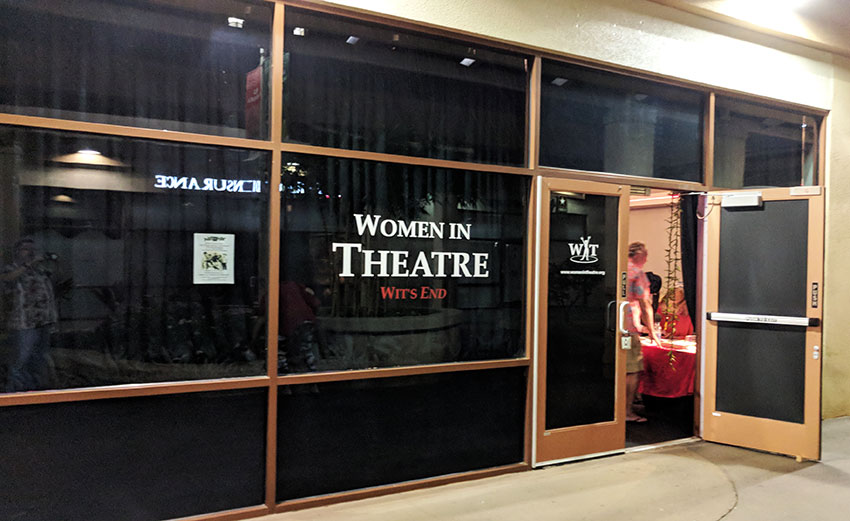 Women In Theatre Entrance Kukui Grove Center