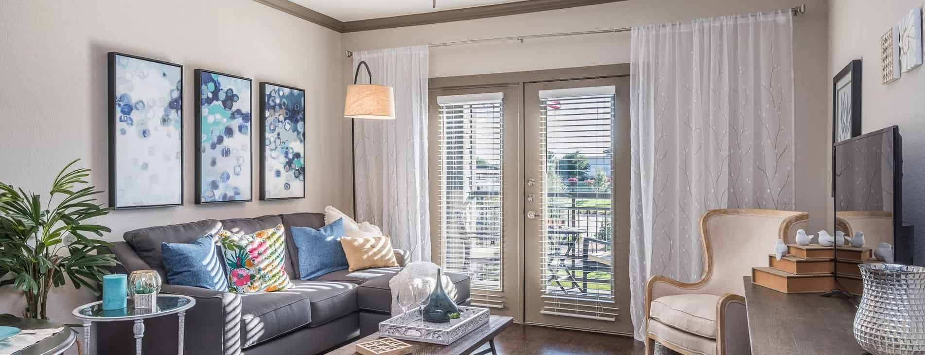 Living Room by Larkspur At Twin Creeks