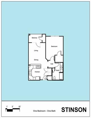 Senior Living Floor Plan 12