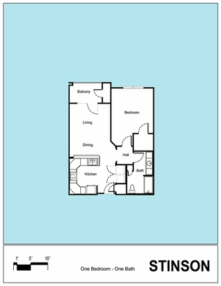 Senior Living Floor Plan 12