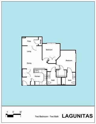 Senior Living Floor Plan 16