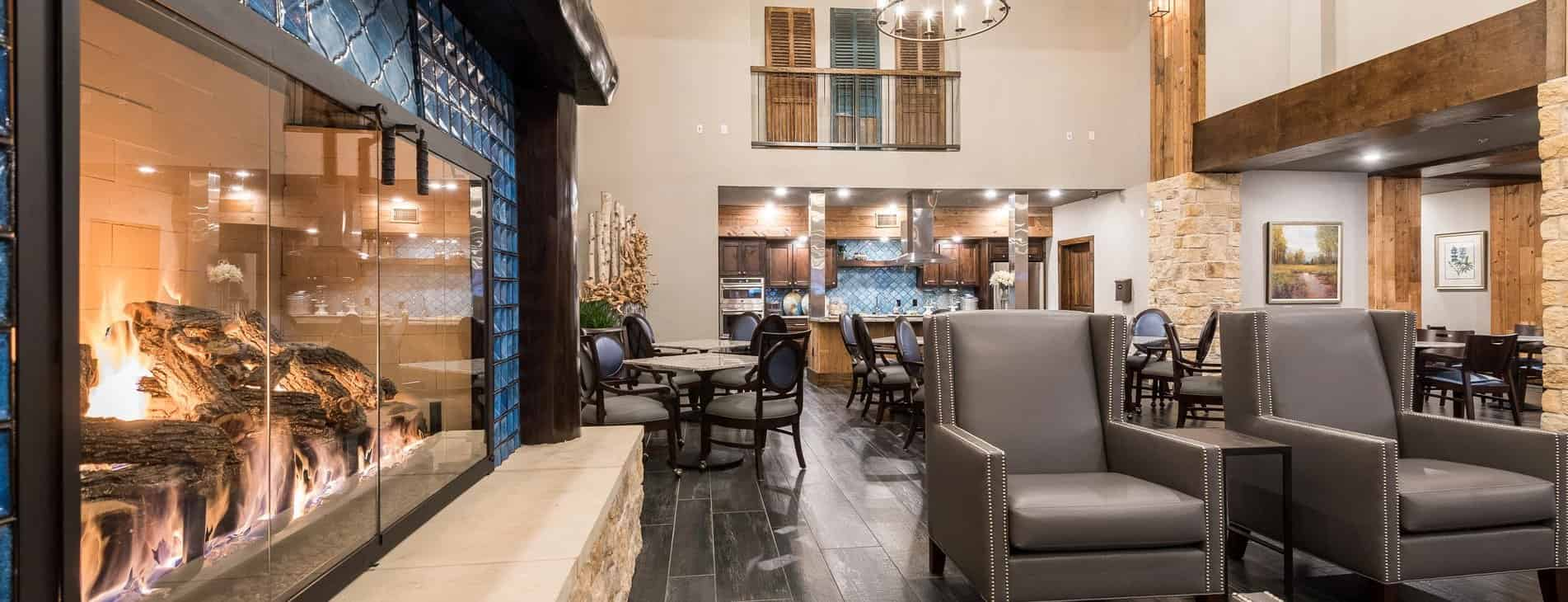 Senior Living Lobby