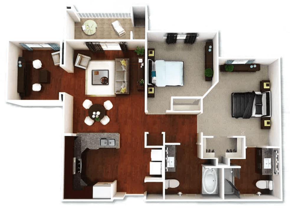 Capitola 3d floorplan
