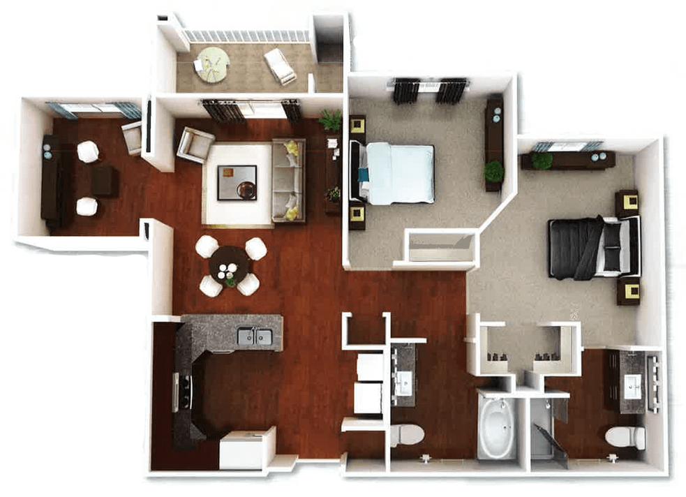 Capitola 3d floorplan 2