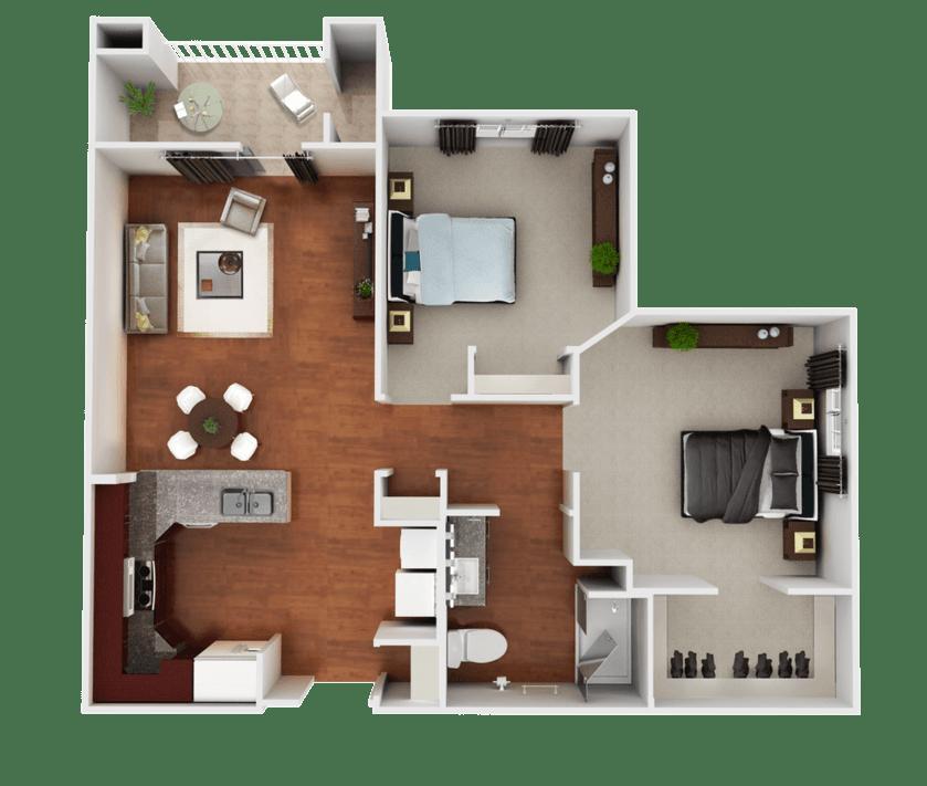Senior Living Floorplan 1