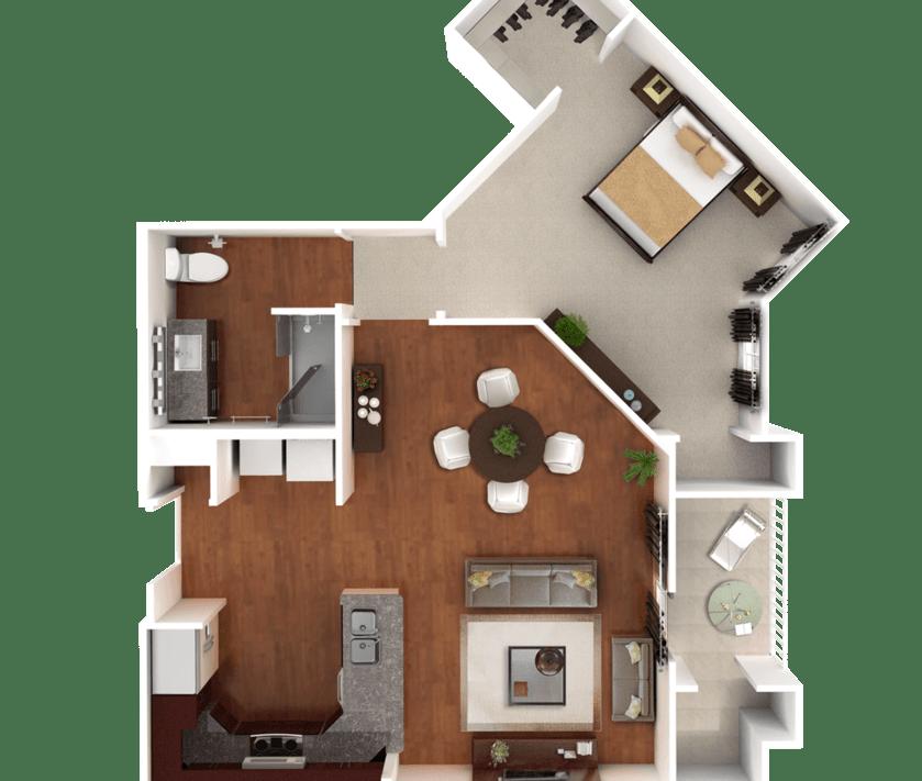 Senior Living Floorplan 6