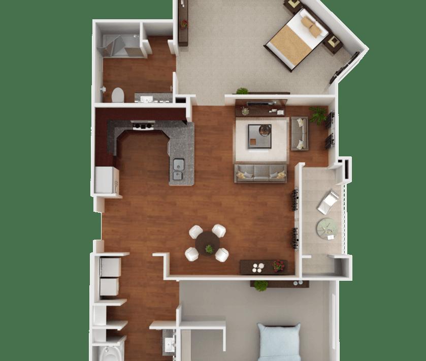 Senior Living Floorplan 7