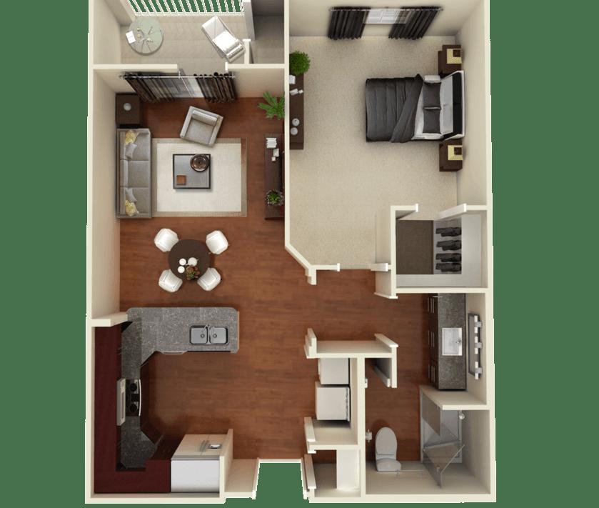 Senior Living Floorplan 3