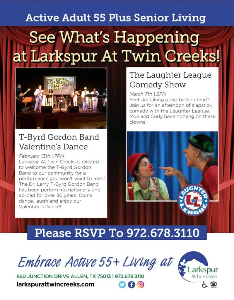 NewsLetter of Larkspur At Twin Creeks