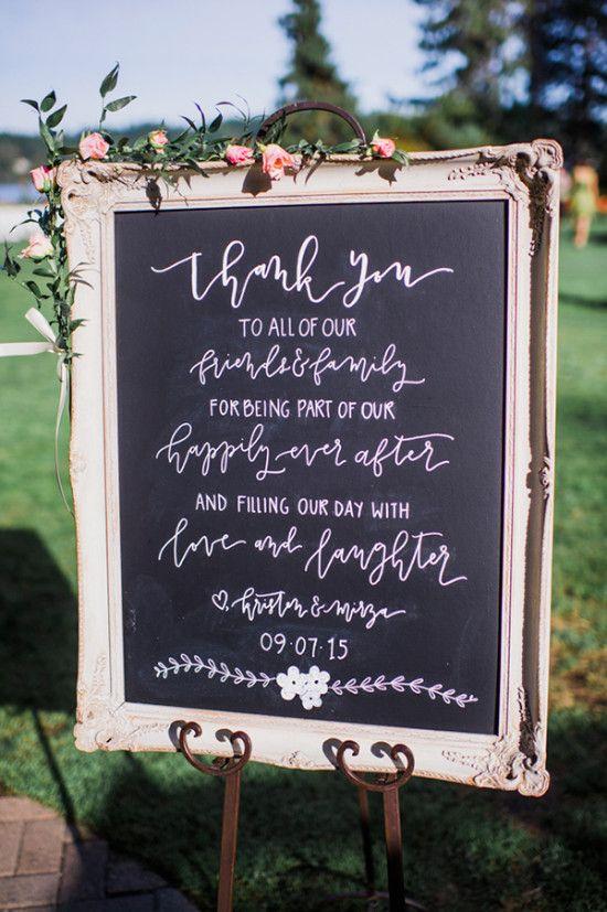 letreros para bodas