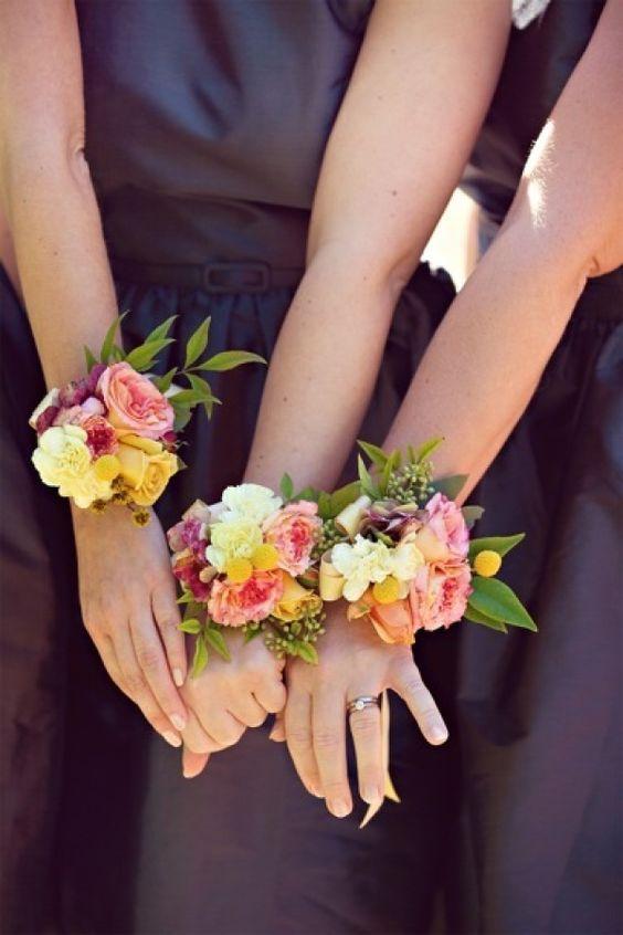 corsage para bodas