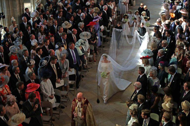 vestido de novia de meghan markle
