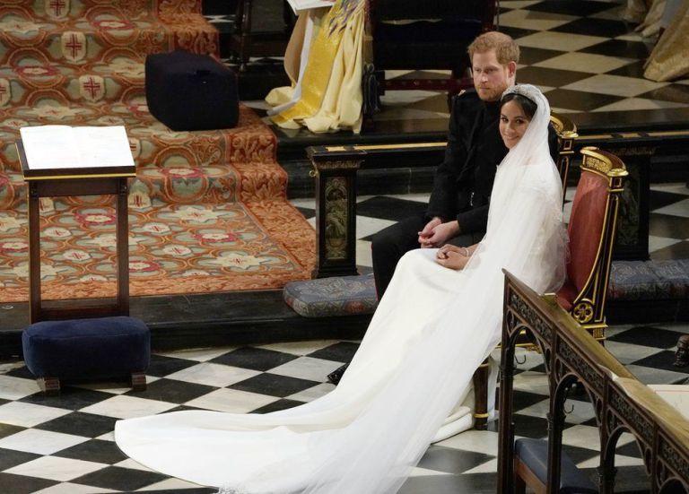 vestido de novia de meghan merkle