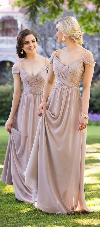 vestidos v-neck para damas