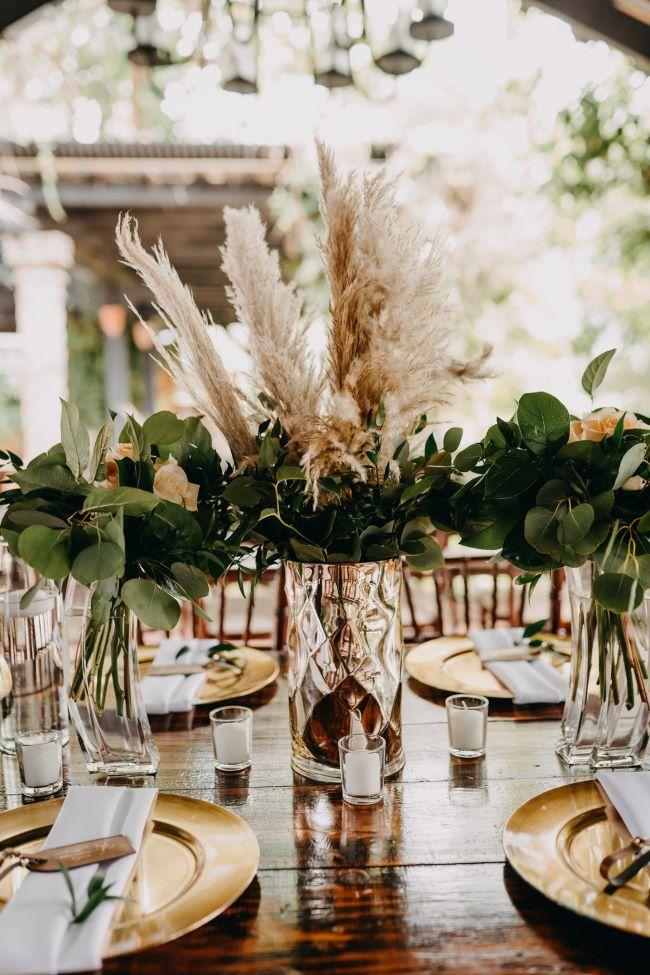 decoración bodas en otoño