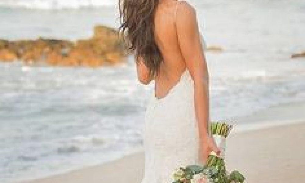 Vestidos de novia con escote en la espalda – ¡Fabulosos!