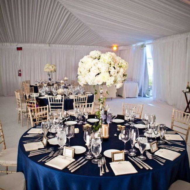 Ideas para una boda color Azul