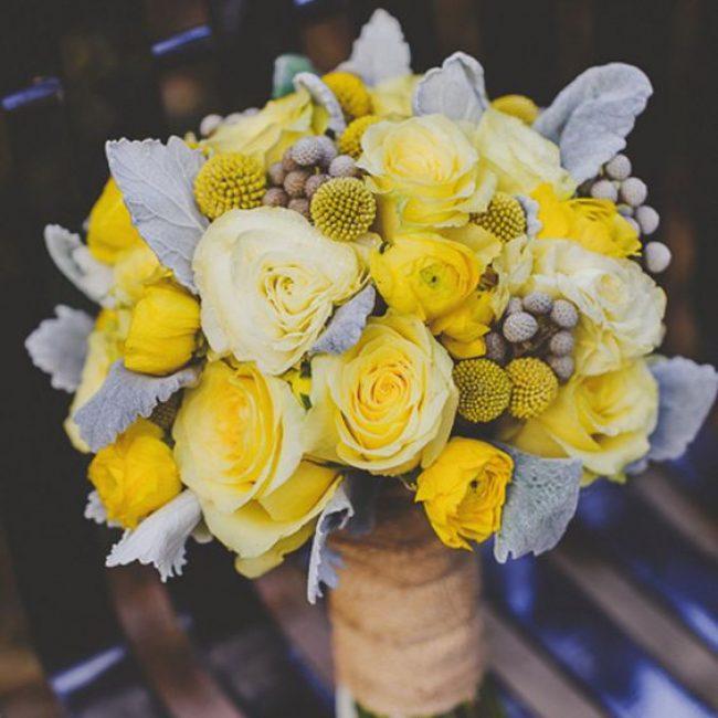 Ideas para una boda color Amarillo