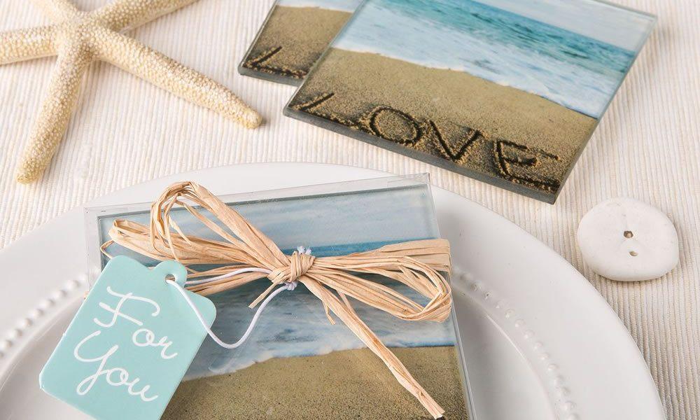beach wedding favor