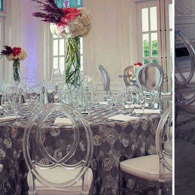 Ideas para una boda color gris