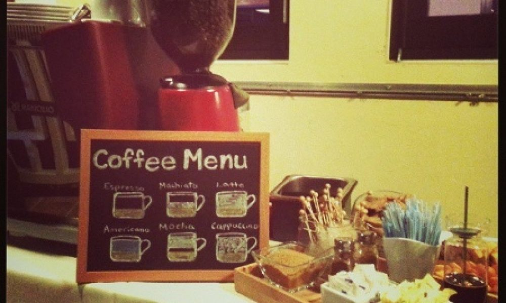 Coffee Bar en tu boda, para los amantes del café