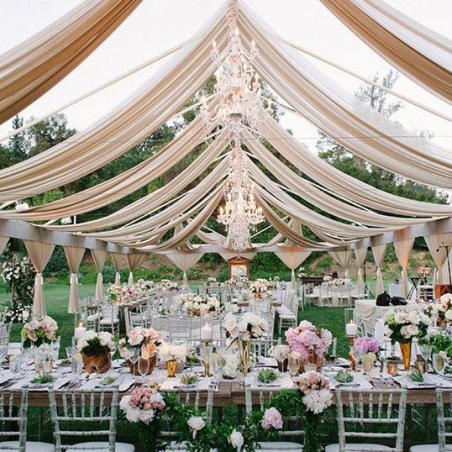 10 ideas para la decoración de una boda al aire libre