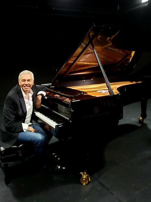 Angelo Molino at the Piano