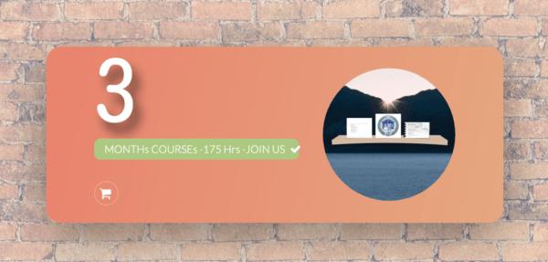 3 months courses
