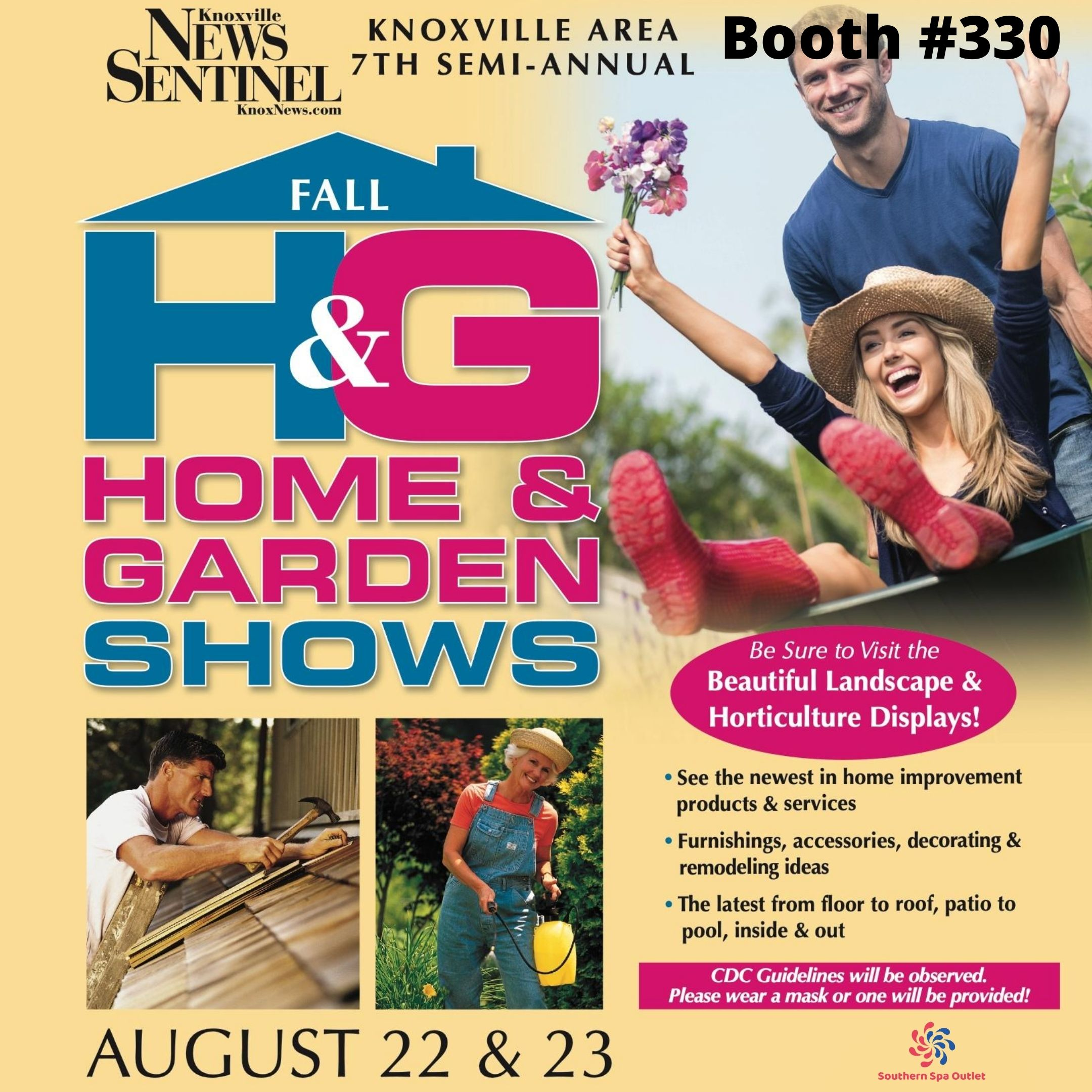 Home & Garden show in Knoxville 2020
