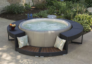 Boca Rattan Surround hot tub accessories