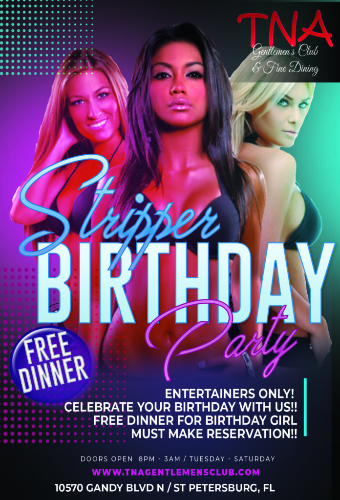 bday strippers