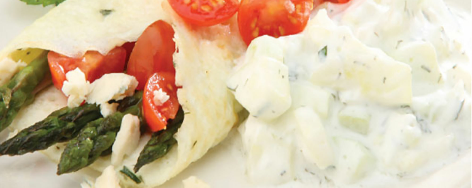 Greek Omelet with Egg Whites