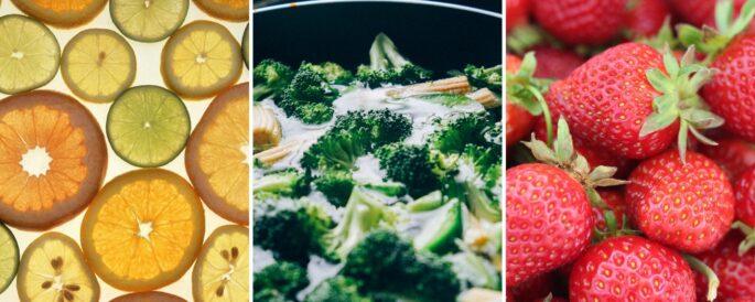 Vitamin C Rich Foods: Citrus, Broccoli, Strawberries