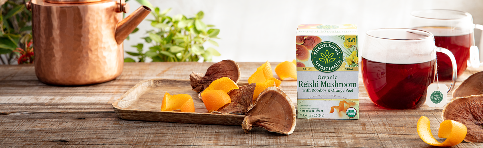Reishi Mushrooms Tea by Traditional Medicinals